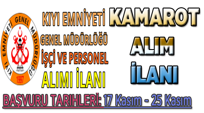 KAMAROT ALIMLARI